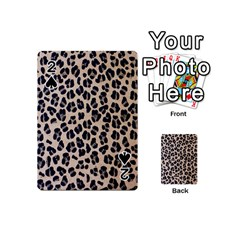 Background Pattern Leopard Playing Cards 54 (mini)