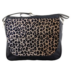 Background Pattern Leopard Messenger Bags