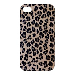Background Pattern Leopard Apple Iphone 4/4s Premium Hardshell Case