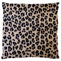 Background Pattern Leopard Large Cushion Case (one Side)