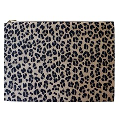 Background Pattern Leopard Cosmetic Bag (xxl)