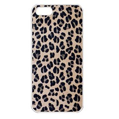 Background Pattern Leopard Apple Iphone 5 Seamless Case (white)