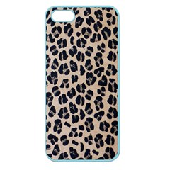 Background Pattern Leopard Apple Seamless Iphone 5 Case (color)