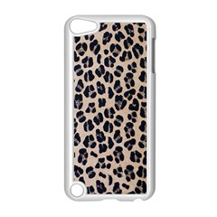 Background Pattern Leopard Apple Ipod Touch 5 Case (white)