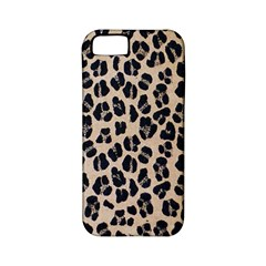 Background Pattern Leopard Apple Iphone 5 Classic Hardshell Case (pc+silicone)