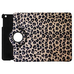 Background Pattern Leopard Apple Ipad Mini Flip 360 Case