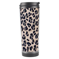 Background Pattern Leopard Travel Tumbler