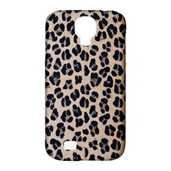 Background Pattern Leopard Samsung Galaxy S4 Classic Hardshell Case (pc+silicone)