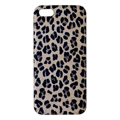 Background Pattern Leopard Iphone 5s/ Se Premium Hardshell Case