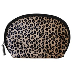 Background Pattern Leopard Accessory Pouches (large)