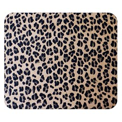 Background Pattern Leopard Double Sided Flano Blanket (small)