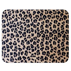 Background Pattern Leopard Double Sided Flano Blanket (medium)
