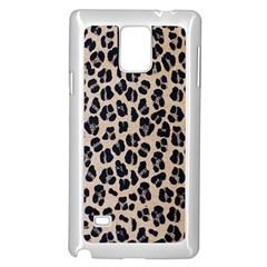 Background Pattern Leopard Samsung Galaxy Note 4 Case (white)