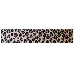 Background Pattern Leopard Flano Scarf (large)