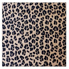 Background Pattern Leopard Large Satin Scarf (square)