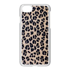 Background Pattern Leopard Apple Iphone 7 Seamless Case (white)