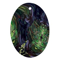 Backdrop Background Abstract Ornament (Oval)