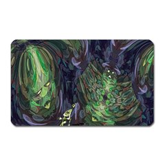 Backdrop Background Abstract Magnet (Rectangular)