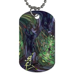 Backdrop Background Abstract Dog Tag (two Sides)