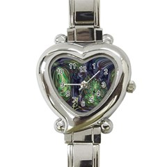 Backdrop Background Abstract Heart Italian Charm Watch