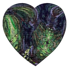 Backdrop Background Abstract Jigsaw Puzzle (heart)