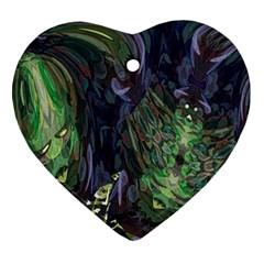 Backdrop Background Abstract Heart Ornament (two Sides)