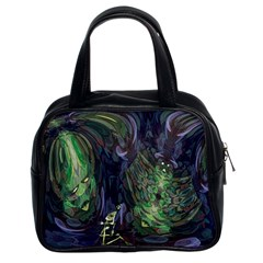 Backdrop Background Abstract Classic Handbags (2 Sides)