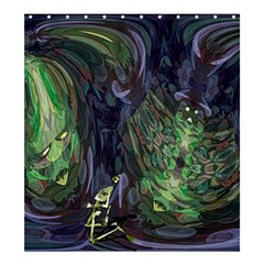 Backdrop Background Abstract Shower Curtain 66  X 72  (large)