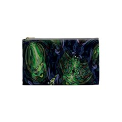 Backdrop Background Abstract Cosmetic Bag (small)