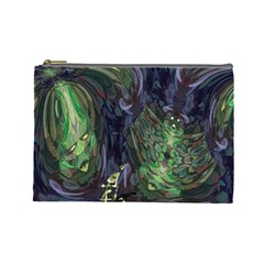 Backdrop Background Abstract Cosmetic Bag (large)