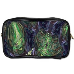 Backdrop Background Abstract Toiletries Bags 2 Side