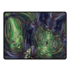 Backdrop Background Abstract Fleece Blanket (small)