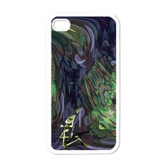 Backdrop Background Abstract Apple Iphone 4 Case (white)