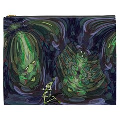 Backdrop Background Abstract Cosmetic Bag (xxxl)