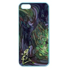 Backdrop Background Abstract Apple Seamless Iphone 5 Case (color)