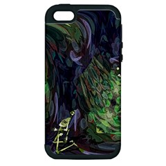 Backdrop Background Abstract Apple Iphone 5 Hardshell Case (pc+silicone)