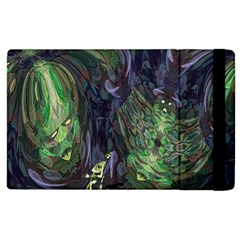 Backdrop Background Abstract Apple Ipad 2 Flip Case
