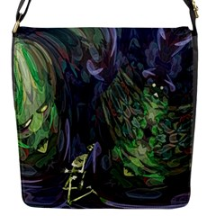 Backdrop Background Abstract Flap Messenger Bag (s)