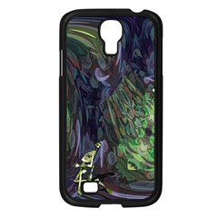Backdrop Background Abstract Samsung Galaxy S4 I9500/ I9505 Case (black)