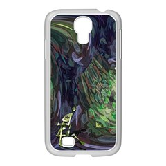 Backdrop Background Abstract Samsung Galaxy S4 I9500/ I9505 Case (white)