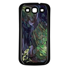 Backdrop Background Abstract Samsung Galaxy S3 Back Case (black)