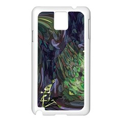 Backdrop Background Abstract Samsung Galaxy Note 3 N9005 Case (white)