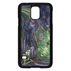 Backdrop Background Abstract Samsung Galaxy S5 Case (black)