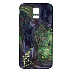 Backdrop Background Abstract Samsung Galaxy S5 Back Case (white)