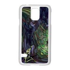 Backdrop Background Abstract Samsung Galaxy S5 Case (white)
