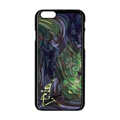 Backdrop Background Abstract Apple Iphone 6/6s Black Enamel Case