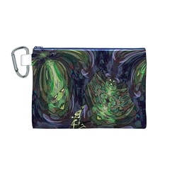 Backdrop Background Abstract Canvas Cosmetic Bag (m)