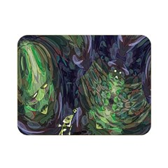 Backdrop Background Abstract Double Sided Flano Blanket (mini)