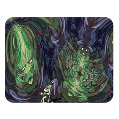Backdrop Background Abstract Double Sided Flano Blanket (large)