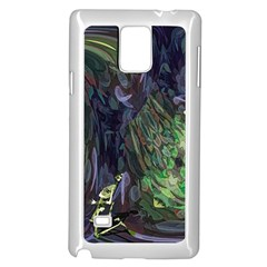 Backdrop Background Abstract Samsung Galaxy Note 4 Case (white)